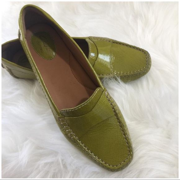 918ea7fad6 Clark Driving Patent Loafer Women's Shoe Size 8